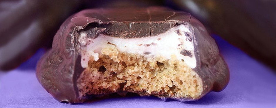 Internal Branding - Chocolate covered marshmallow cookie