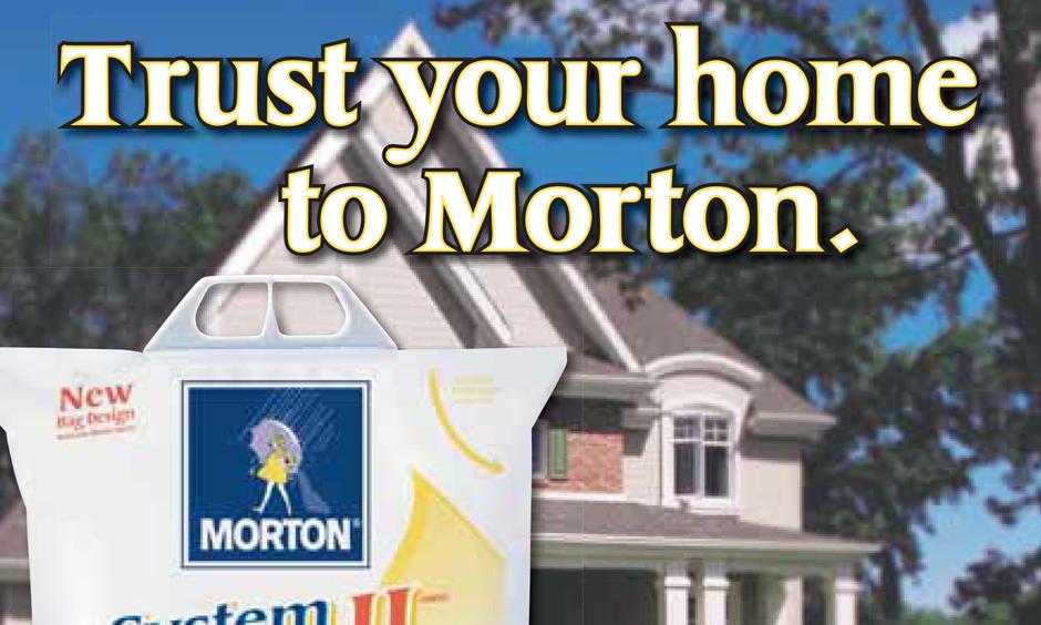 Morton Salt print campaign
