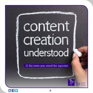 Content Creation Understood