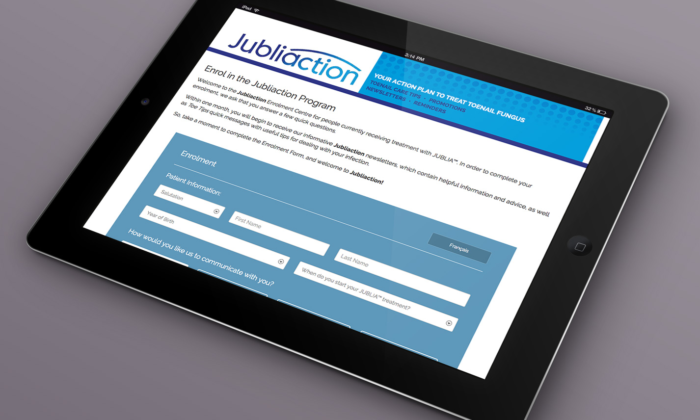 Jubliaction: Turn-key Patient Support Program